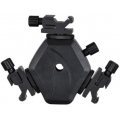 Triple Hotshoe Adaptor (with Umbrella Holder) 